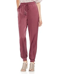 Vince Camuto Smocked Jogger Pants Summer Rose