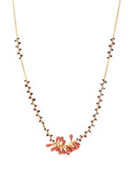 Isabel Marant Perky Beaded Necklace Multi