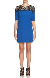 Cynthia Steffe Women's Lace Shift Dress