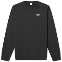 Reebok Small Vector Crew Sweat Black