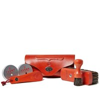 Turms Hand Stitched Beauty Care Kit Red