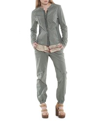 Xcvi Isabella Button Front Jacket Gray