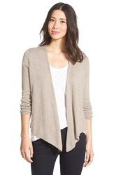Nic Zoe Women's Four Way Convertible Long Sleeve Cardigan Mushroom