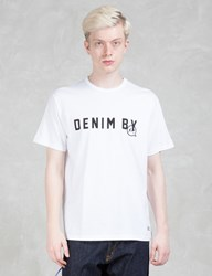 Denim By Vanquish And Fragment Logo Crew Neck T Shirt