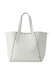 Liebeskind Reversible Leather Shopper Bag Ivory White