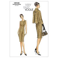 Vogue Women's Dress And Jacket 8146