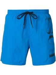 Hugo Boss Logo Swimming Shorts Blue