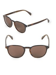 Paul Smith Mayall Round Sunglasses Brown