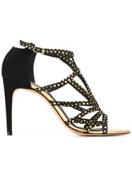 Jean Michel Cazabat 'Oxis' Sandals Black