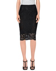 Vdp Collection Skirts Knee Length Skirts Women Black