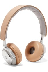 B And O Play H8 Wireless Leather Headphones Beige