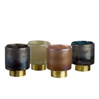 Pols Potten Belt Candle Holders Set Of 4 Small
