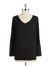 Bench Sheer Back Tee Jet Black