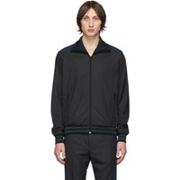 Stella Mccartney Grey Wool Jerry Track Jacket