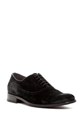 John Varvatos Dress Brogue Oxford Black