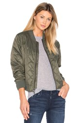 Vince Quilted Bomber Olive
