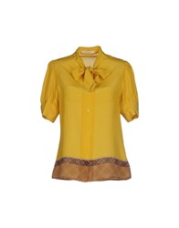 Sessun Shirts Shirts Women Yellow