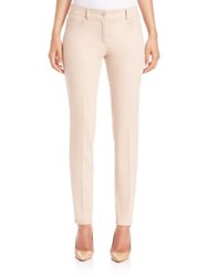 Akris Magda Stretch Cotton Denim Pants Ranunculus