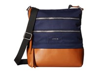 Lodis Kate Nylon Rfid Under Lock Key Wanda Travel Crossbody Navy Cross Body Handbags