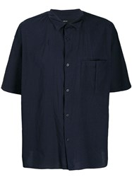 08Sircus Plain Shortsleeved Shirt Blue