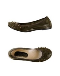 Gleda Ballet Flats Dark Brown