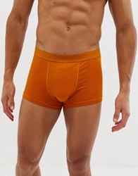 Weekday Dylan Boxers In Mustard Yellow