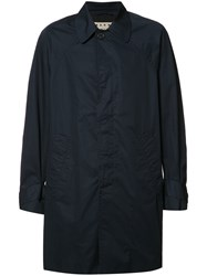 Marni Long Length Jacket Blue