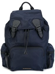 Burberry 'Zaino' Backpack Blue