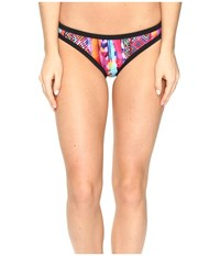 Seafolly Mexican Summer Scuba Hipster Bottoms Summer Women's Swimwear Green