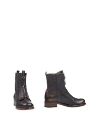 Henry Beguelin Ankle Boots Steel Grey