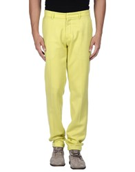 Richard Nicoll Trousers Casual Trousers Men Yellow