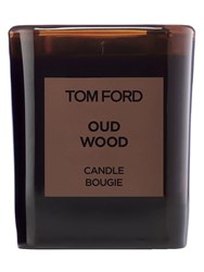 Tom Ford 595Gr Private Blend Oud Wood Candle Transparent