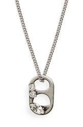 Marc By Marc Jacobs Women's Soda Tab Pendant Necklace