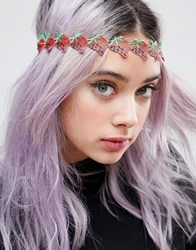 Asos Limited Edition Strawberry Headband Red