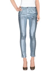 Guess By Marciano Denim Denim Trousers Women Sky Blue