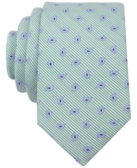 Bar Iii Carnaby Collection Swan Pine Skinny Tie Green