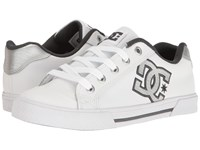 Dc Chelsea Se W White Grey Grey Women's Skate Shoes Gray
