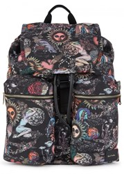 Paul Smith 1974 Printed Canvas Backpack Multicoloured