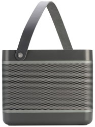 Bang And Olufsen Beoplay Grey Beolit 17 Speaker Men Leather Aluminium One Size Black
