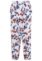 Jdybella Trousers Cloud Dancer Off White
