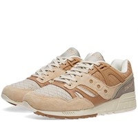 Saucony Grid Sd Quilted Brown