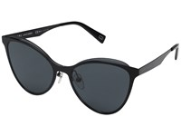 Marc Jacobs 198 S Black With Gray Blue Lens