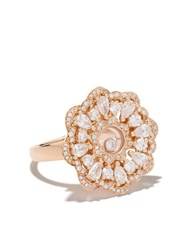 Chopard 18Kt Rose Gold Happy Precious Ring