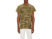 Madeworn X Roc96 Men's 22 Two's Cotton T Shirt Dark Green