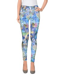 Maison Espin Leggings Blue