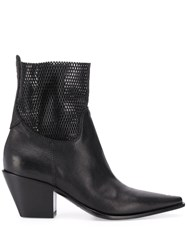 Premiata 70Mm Panelled Ankle Boots 60