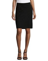 Imnyc Isaac Mizrahi Pencil Skirt With Back Vent Black