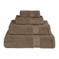 Dkny Mercer Plain Dye Towel Grey Stone