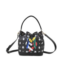 Love Moschino I Love Monogram Bucket Bag