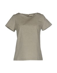 Bruno Manetti Blouses Light Grey